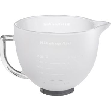 4.8L FROSTED GLASS BOWL FOR TILT HEAD MIXER MODELS 5K5FGB