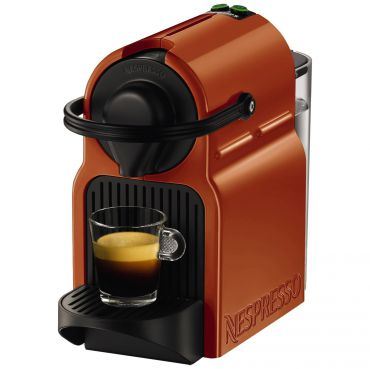 Nespresso inissia by KRUPS Coffee Capsule Machine,Orange