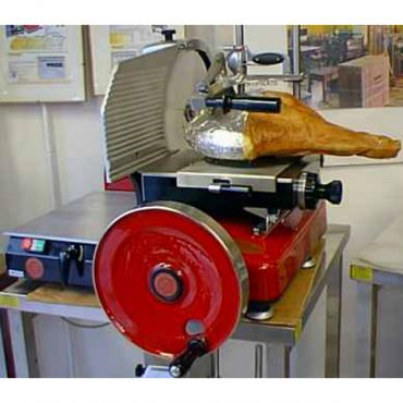 Tamagnini Flywheel slicers mod.370 automatic