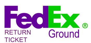 FedEx Ground Return ticket ticket service