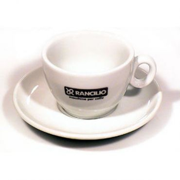 Rancilio Capuccino Cups and Saucers - set of 6