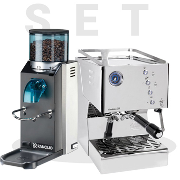 Set Quickmill Evolution 70 3130 & Rancilio Rocky SD