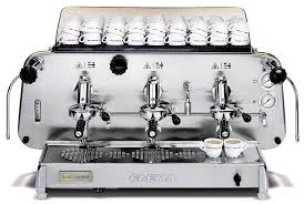 Faema coffee machine E61 Legend three groups Semiautomatic