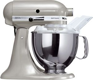 KitchenAid Artisan Food mixer Silver Metallic
