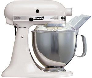 KitchenAid Artisan Food Mixer White Finish