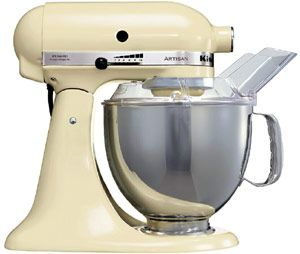 KitchenAid Artisan Food Mixer- Cream finish - IKSM150PSC