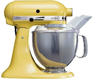 KitchenAid Artisan Food mixer- Yellow finish