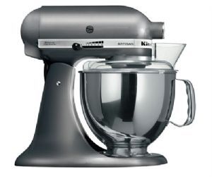 Kitchenaid Artisan Food Mixer Metallic grey finish