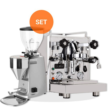PROFITEC FILTER HOLDER ESPRESSO MACHINE PRO 700 and MAZZER MINI ELECTRONICO TYPE A
