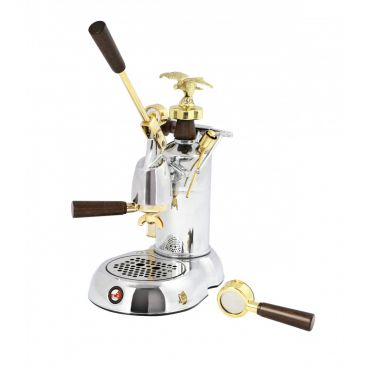 New La Pavoni EXPO EXP Chrome and Gold