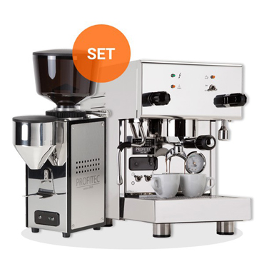 PROFITEC FILTER HOLDER ESPRESSO MACHINE PRO300 and PROFITEC ESPRESSO GRINDER PROT64