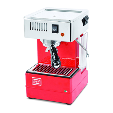 Quick Mill Coffee Machine SemiAutomatic Stretta Old Red