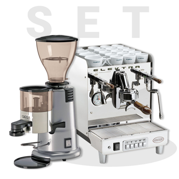 ELEKTRA T1 SIXTIES Deliziosa Electronic AND GAGGIA MD58 Coffee Grinder