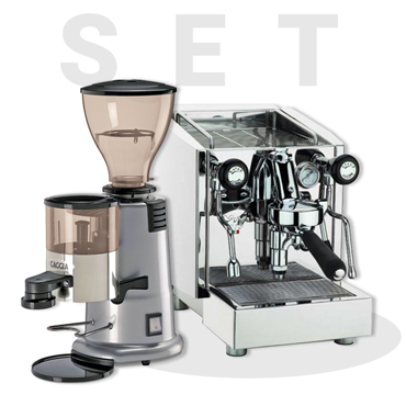 IZZO MYWAY VIVI PID III ESPRESSO MACHINE AND GAGGIA MD58 Coffee Grinder