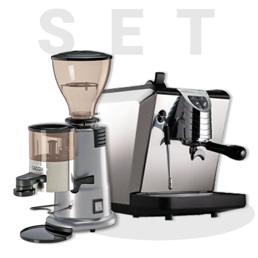 Nuova Simonelli Oscar2 Black And GAGGIA MD58