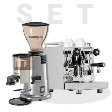 PROFITEC PRO500 ESPRESSO MACHINE AND GAGGIA MD58 Coffee Grinder