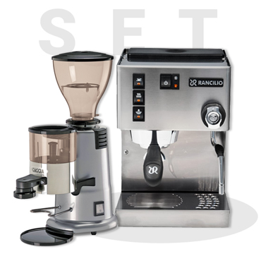 Rancilio Silvia V5 E AND GAGGIA MD58 Coffee Grinder