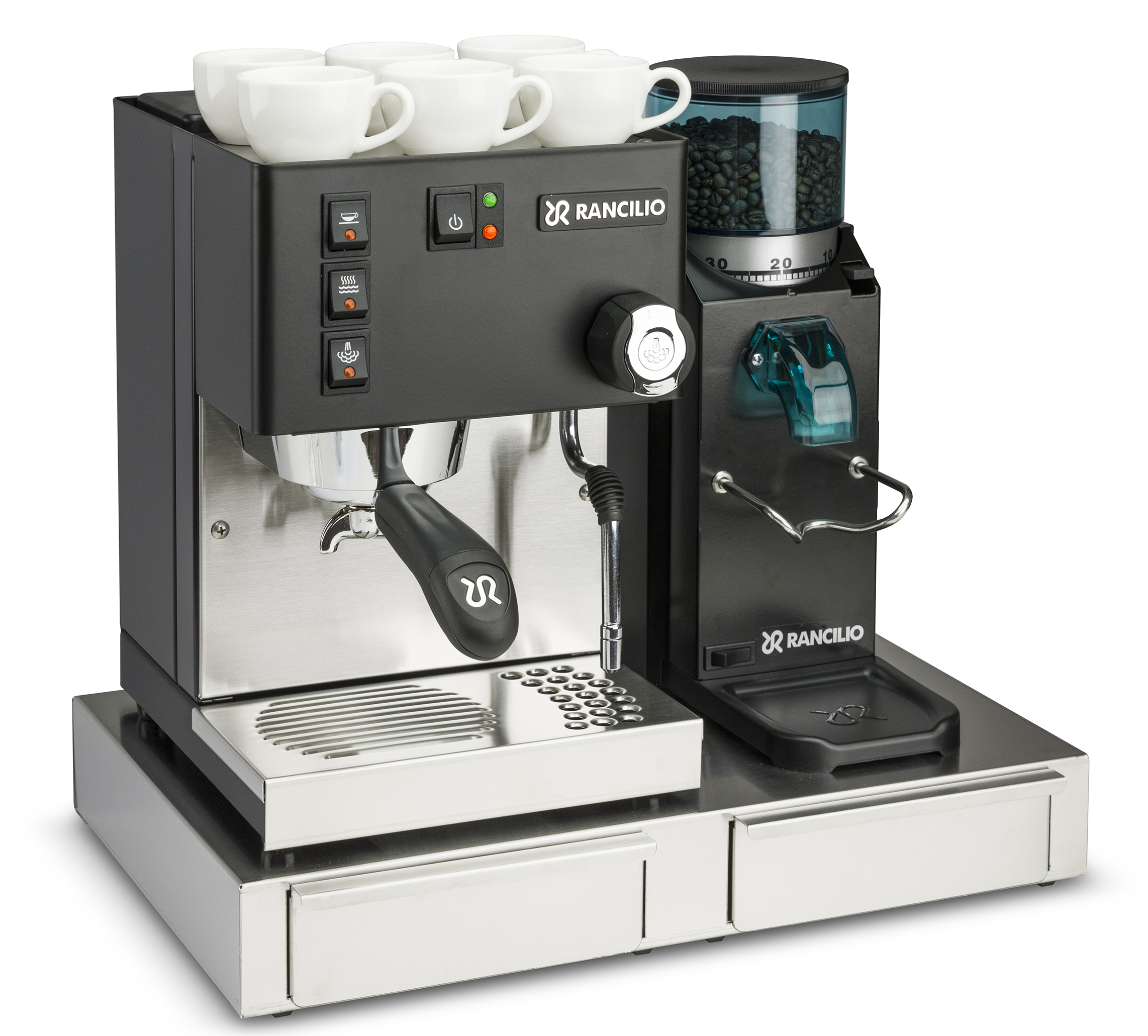 Rancilio Silvia E Black 2020 Vb E Rocky Sd Rancilio Base